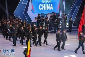 第三届冬季世界军人运动会在俄罗斯索契开幕