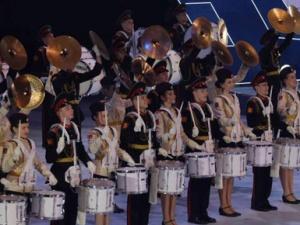 第三届世界军人冬运会举行开幕式