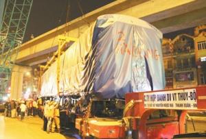 中企加快推进越南首条城铁建设