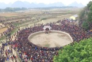 六万名游客齐聚上林参加木山乡民族传统文化艺术节
