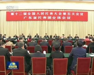 刘云山参加广东代表团审议