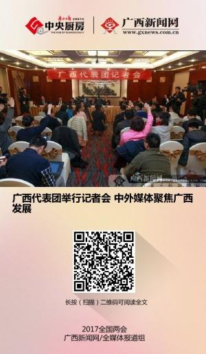 广西代表团举行记者会 中外媒体聚焦广西发展