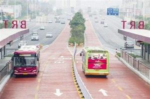 南宁BRT有了