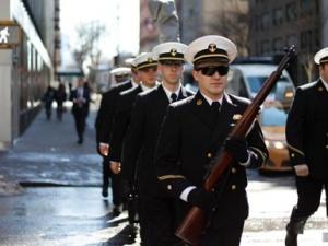 纽约举行圣帕特里克节游行