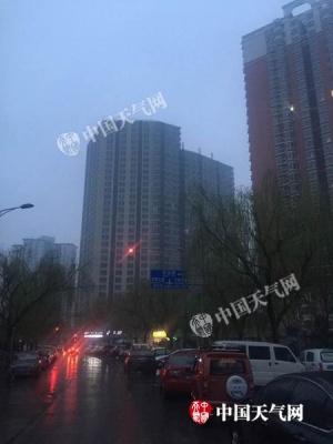 北京雨雪下午渐止 周末转晴气温升至15℃