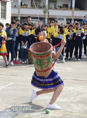 """钦州市""""壮族三月三""""传统体育比赛鸣锣"""
