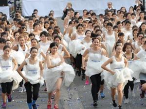 泰国曼谷:准新人赛跑