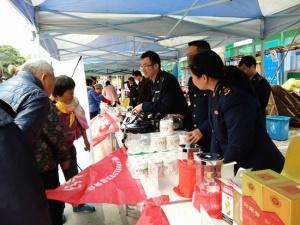 """上林县开展""""3·15"""" 消费者权益日宣传活动"""