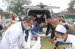 """""""1369生命直通车""""一日救两患者"""