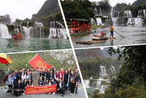 德天跨国瀑布:亚洲最大瀑布 中越合作开发