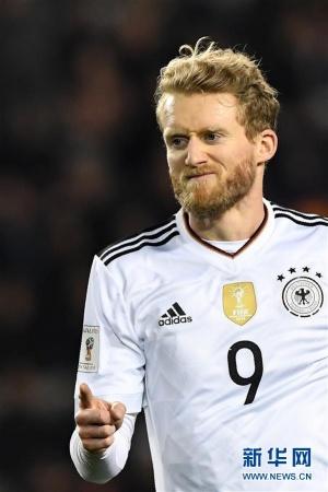 足球世预赛:德国队胜阿塞拜疆队