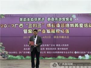 横县桑葚旅游美食活动在横县举行