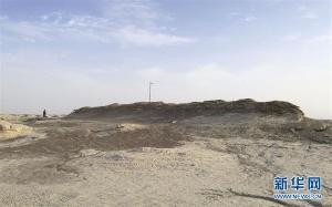 考古人员在罗布泊发现一座汉晋时期古城