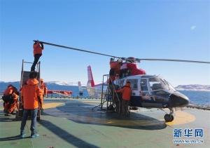 记南极科考直升机机组:在南极,让抵达更快更准