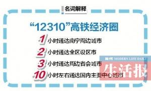 """南宁交通""""十三五""""规划出炉 五象新区将建火车站"""