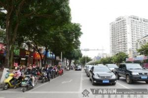 钦州:交通秩序大整治显成效