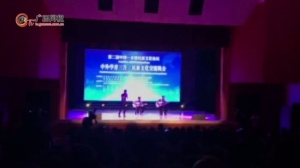 留学生演唱老挝民歌《永远》