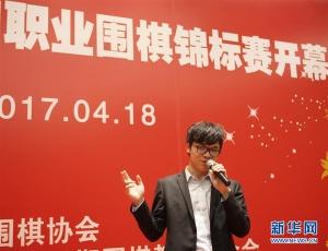 围棋第十四届中国职业围棋锦标赛开幕式在京举行