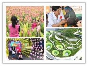 """4月24日焦点图:南宁那考河湿地公园成""""网红"""""""