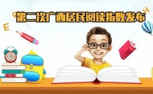 [桂刊]第二次广西居民阅读指数发布