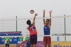 高清:全国青年U21沙滩排球锦标赛在钦州举行