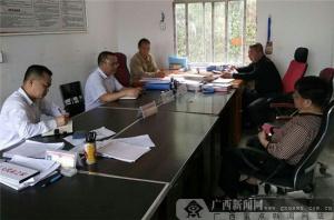 农行南丹县支行积极助力联系村脱贫攻坚