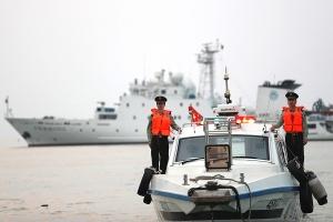 高清:北海边防官兵休渔期前夕加强海上巡逻防控