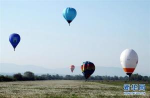 克罗地亚热气球节
