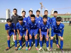 全国青少年男子U15联赛第二阶段:广西队取开门红