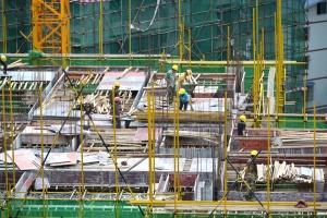 龙胜:易地扶贫搬迁项目建设如火如荼(图)