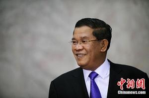 """柬首相洪森:东盟国家在""""一带一路""""建设中受益"""
