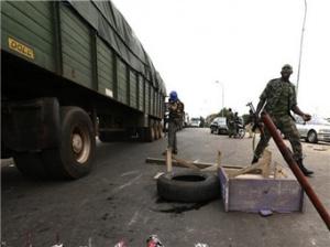 科特迪瓦中部军人骚乱致多人伤亡