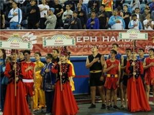 哈萨克斯坦武术锦标赛在阿斯坦纳举行
