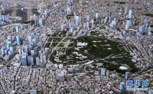 """""""鸟瞰""""以假乱真的东京微缩景观"""