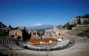 意大利陶尔米纳希腊剧场
