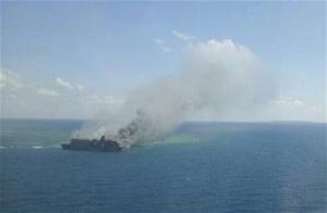 印尼发生渡轮失火事故