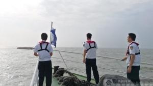 钦州海上搜救中心全力搜救海上遇险人员