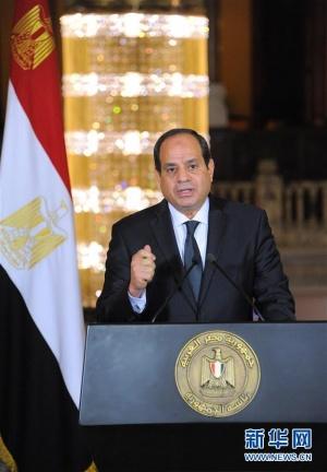 埃及空袭利比亚境内恐怖分子训练营地(组图)