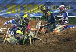 桂林超级越野摩托车场地赛 速度与激情