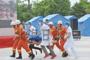 2017年北海台风灾害应急救助联合演练在园博园举行