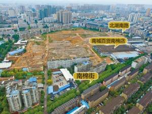 南宁市北湖南棉片区将建大型城市综合体(图)
