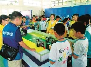 广西青少年机器人竞赛在柳开赛