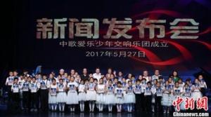 中歌爱乐携手环宇兄弟联合百名琴童演奏会在京举行
