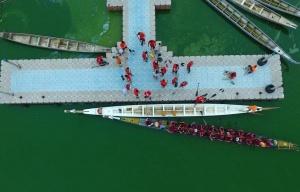龙舟――厦门高浦的海上龙舟队