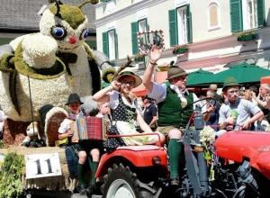 奥地利:水仙花节醉游人