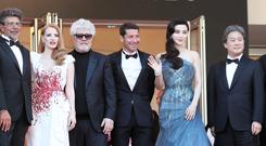 范冰冰出席戛纳电影节闭幕式