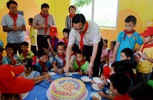 """崇左市各县(市、区)各小学和幼儿园以及相关部门各部门欢欢喜喜庆""""六一"""""""