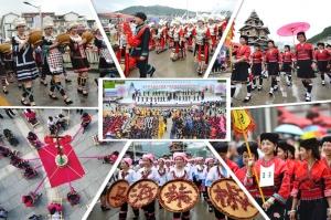 高清:乐享文化盛会 龙胜龙脊梯田文化节盛装启幕