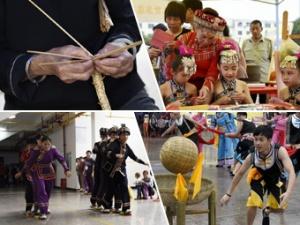 """高清组图:广西罗城""""文化和自然遗产日""""展""""非遗"""""""