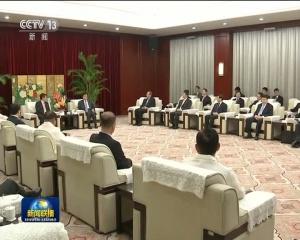 刘云山会见出席金砖国家政党 智库和民间社会组织论坛的外方政要